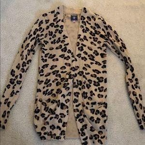 Rare vs pink cheetah cardigan